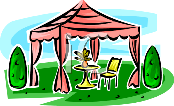 Royalty Free Gazebo Clip Art Buildings Clipart