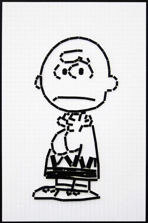 Charlie Brown Characters Black And White Clipart Clipart