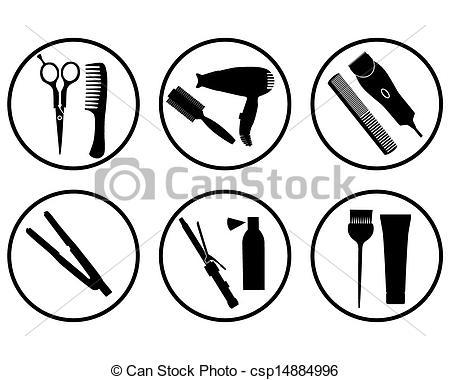hair supplies clipart - photo #23