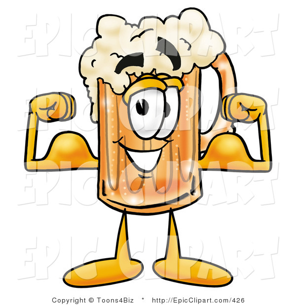 Weak Muscles Cartoon  Strong Arm Muscles  Strong Muscles Clipart