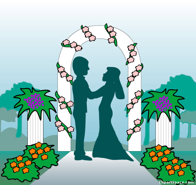 Wedding Ceremony Clipart - Clipart Kid