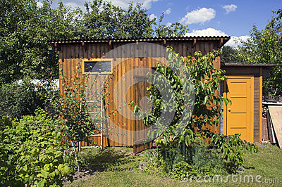 Wooden Shed Stock Photo   Image  57896558