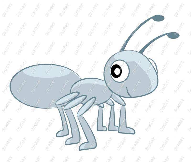 Ant Character Clip Art 663 Formats Included With This Ant