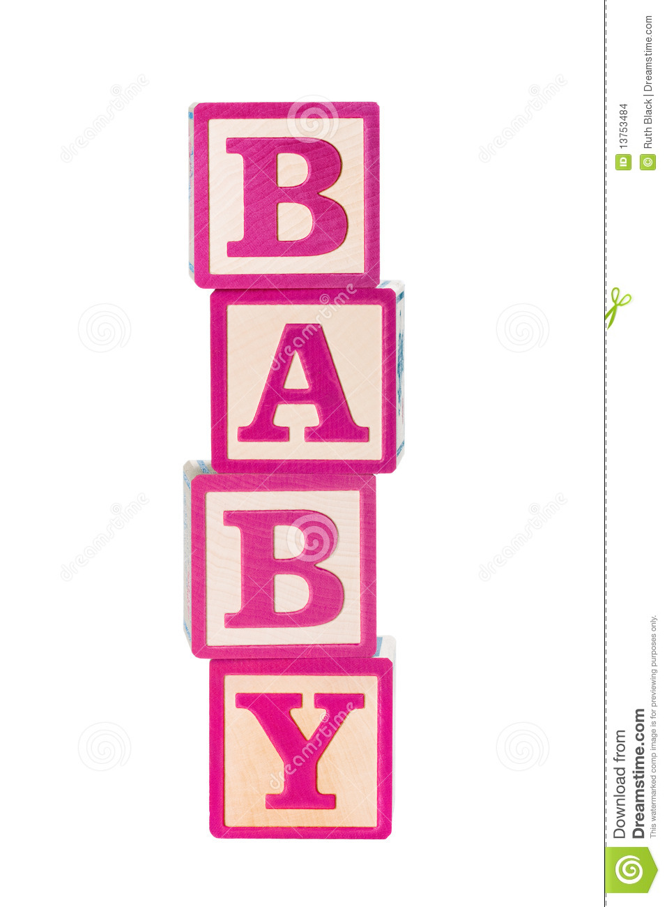 Baby Building Blocks Stock Images   Image  13753484
