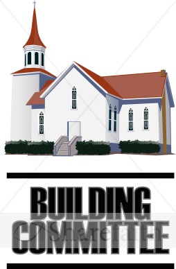 Building Committee With Church   Church Word Art