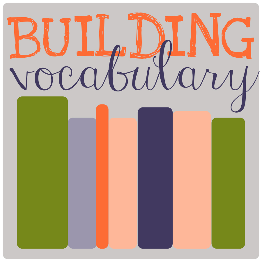 Building Vocabulary  2015 Hump Day Book Club Reading List