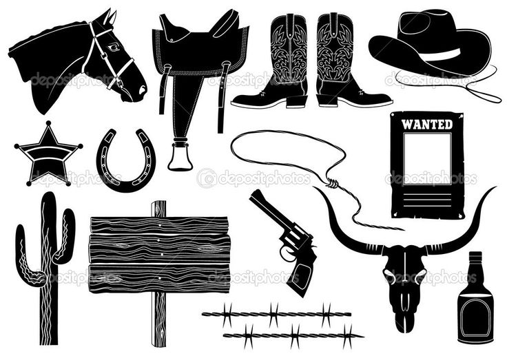 Cowboy Saddle Clipart - Clipart Kid