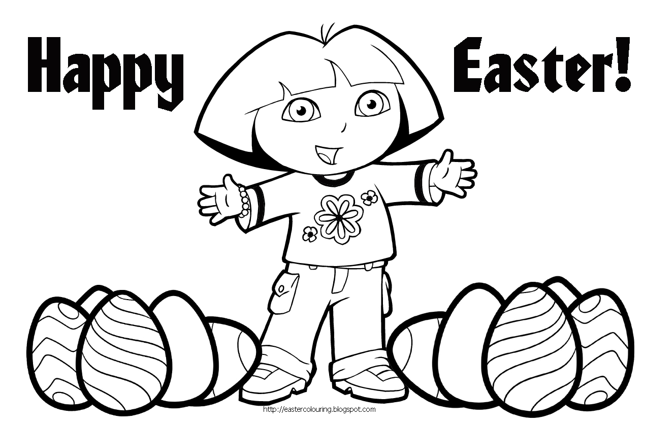 dora coloring pages backpack - photo#26