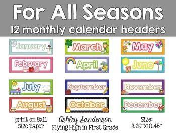 Kindergarten Math Pinterest Calendar Free Calendars And Names