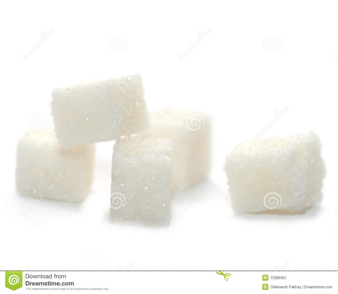 Lump Sugar Stock Image   Image  13389361