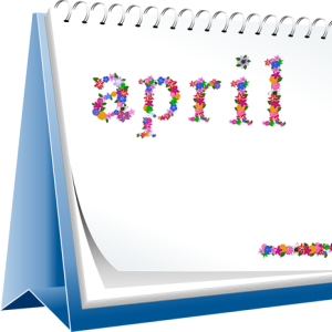 Month Names Clipart