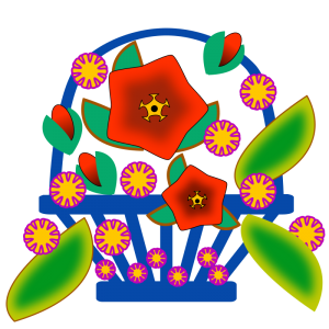 Share Flower Basket Clipart With You Friends