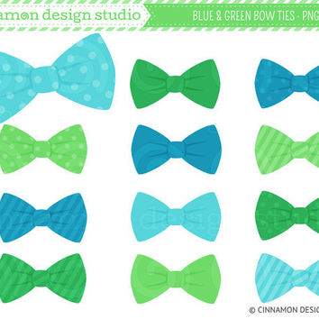 Striped Blue Tie Clipart Blue And Green Bow Ties Clip
