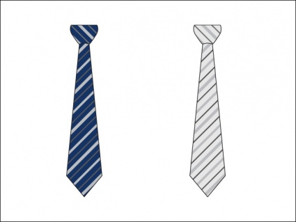Two Striped Business Ties  Easily Change Stripe Color Or Discard All