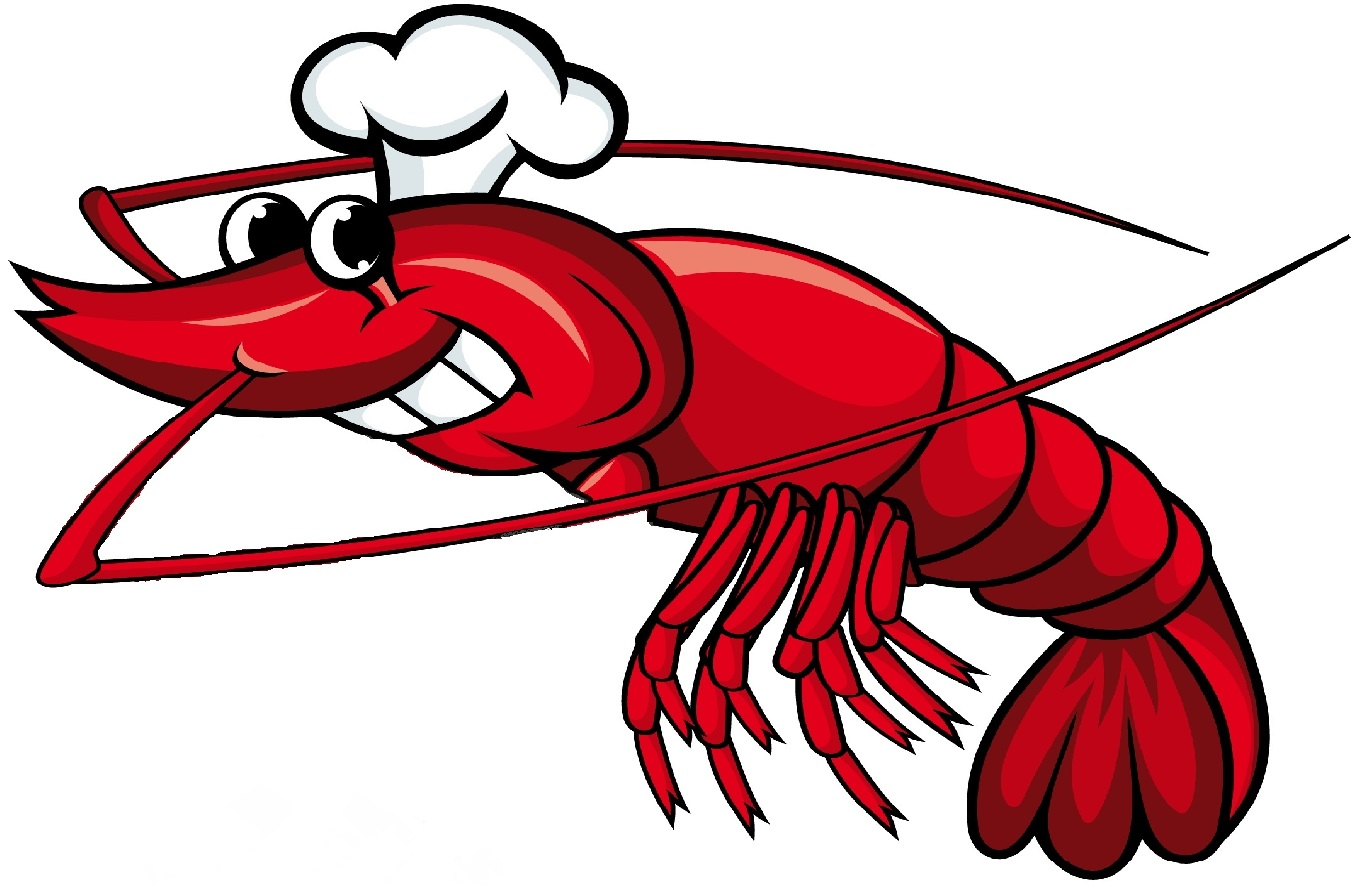 Cartoon Shrimp Clipart - Clipart Kid