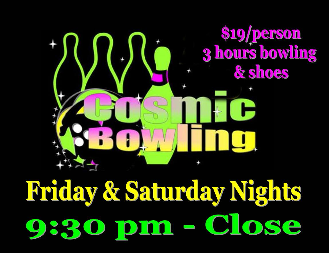 Cosmic Bowling Cosmic Bowl