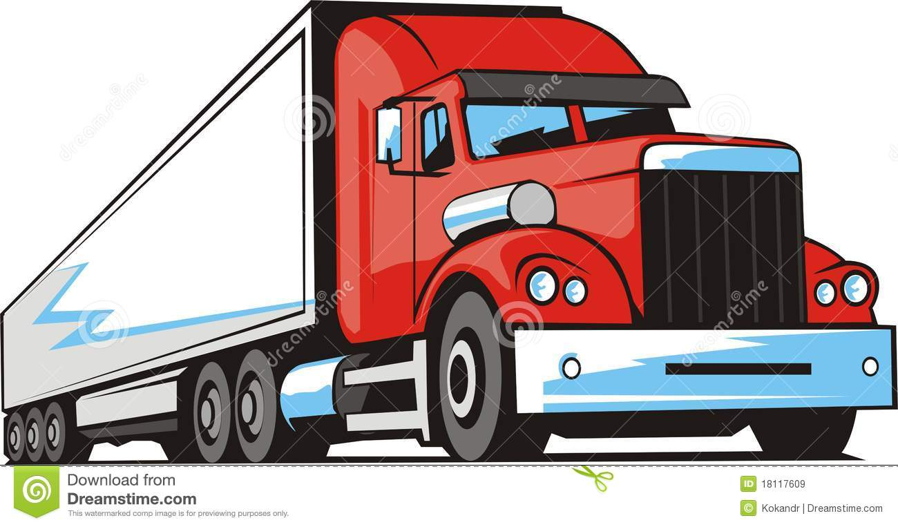 Shipping Truck Clipart - Clipart Kid