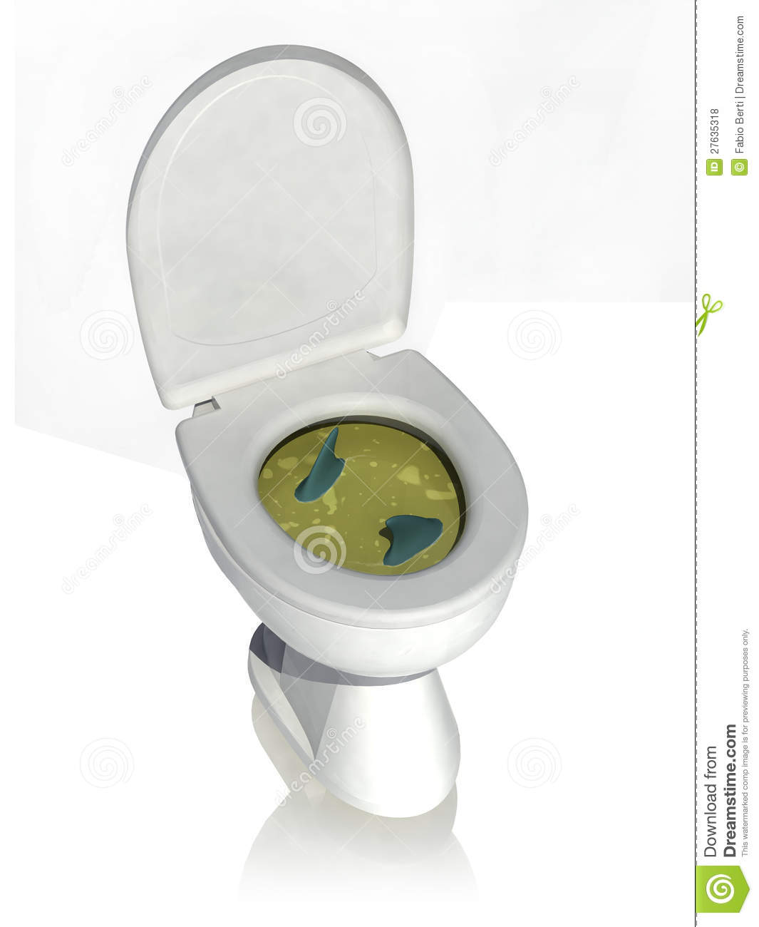 Dirty Toilet Clipart - Clipart Kid