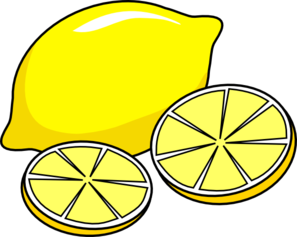 Lemon Clip Art At Clker Com   Vector Clip Art Online Royalty Free