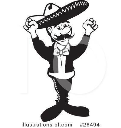 Mexico Clipart  26494 By David Rey   Royalty Free  Rf  Stock