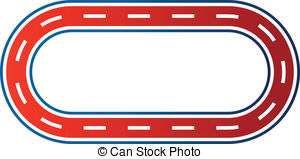 Clip Art Track Clip Art race track clipart kid vector eps images 5022 clip art vector