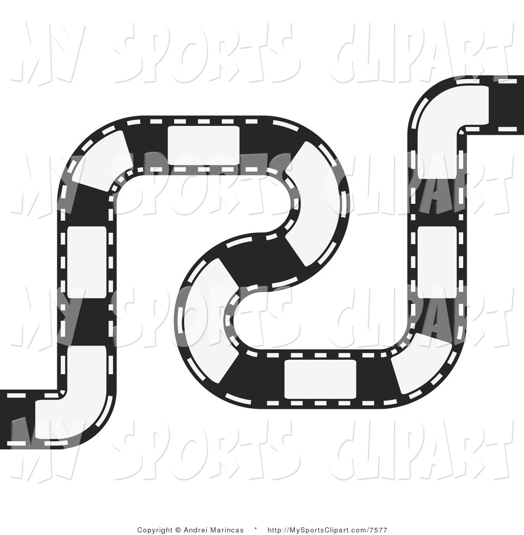 Royalty Free Race Track Stock Sports Clipart Illustrations