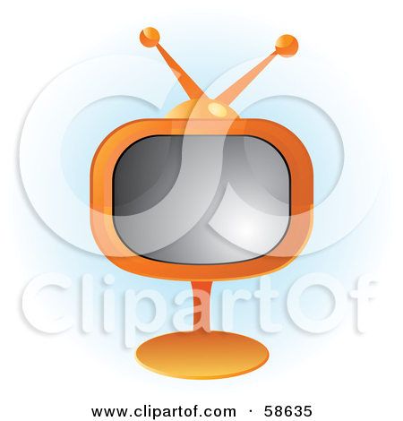 Royalty Free  Rf  Television Set Clipart   Illustrations  1