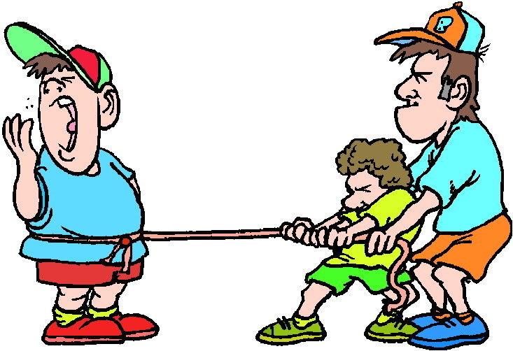 Tug O War Is A Competition Between Two People Or Sides