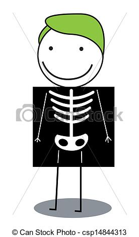 Clip Art X-ray Clipart body x ray clipart kid vector stock illustration royalty free illustrations