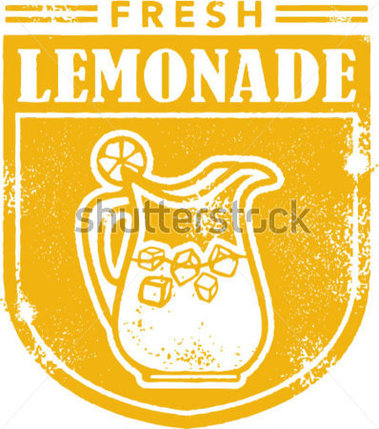 Vintage Lemonade Stamp Stock Vector   Clipart Me