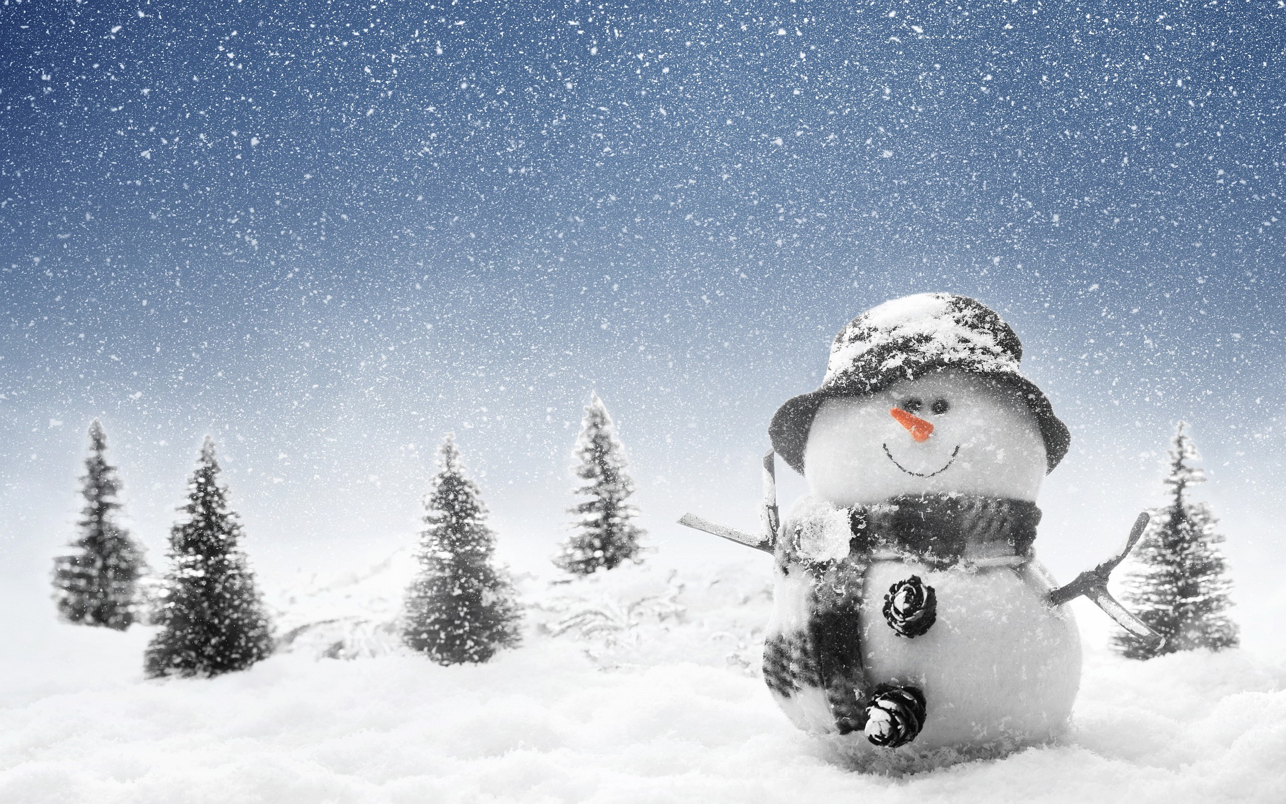 Winter Snowman Wallpapers Pictures Photos Images