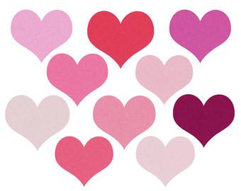 Conversation Hearts Clip Art - Clipart Kid