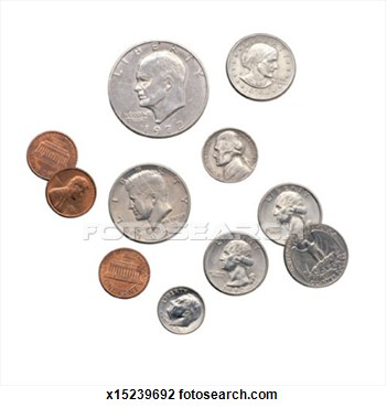 American Coins Clipart American Coins