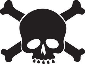 And Crossbones Stock Photos   Clipart Skull And Crossbones Pictures