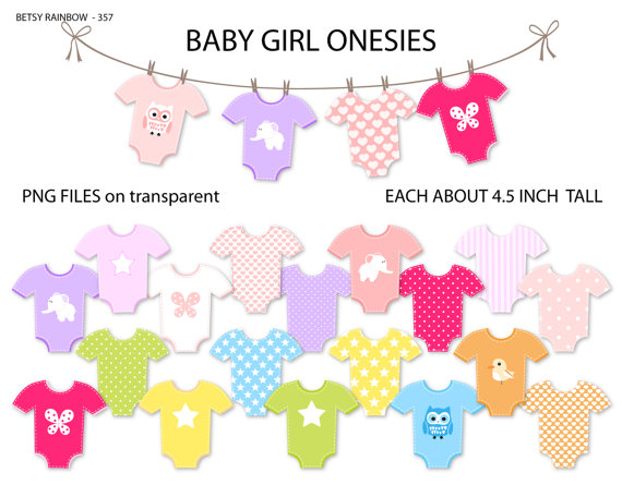 baby girl clothesline clipart clipart suggest
