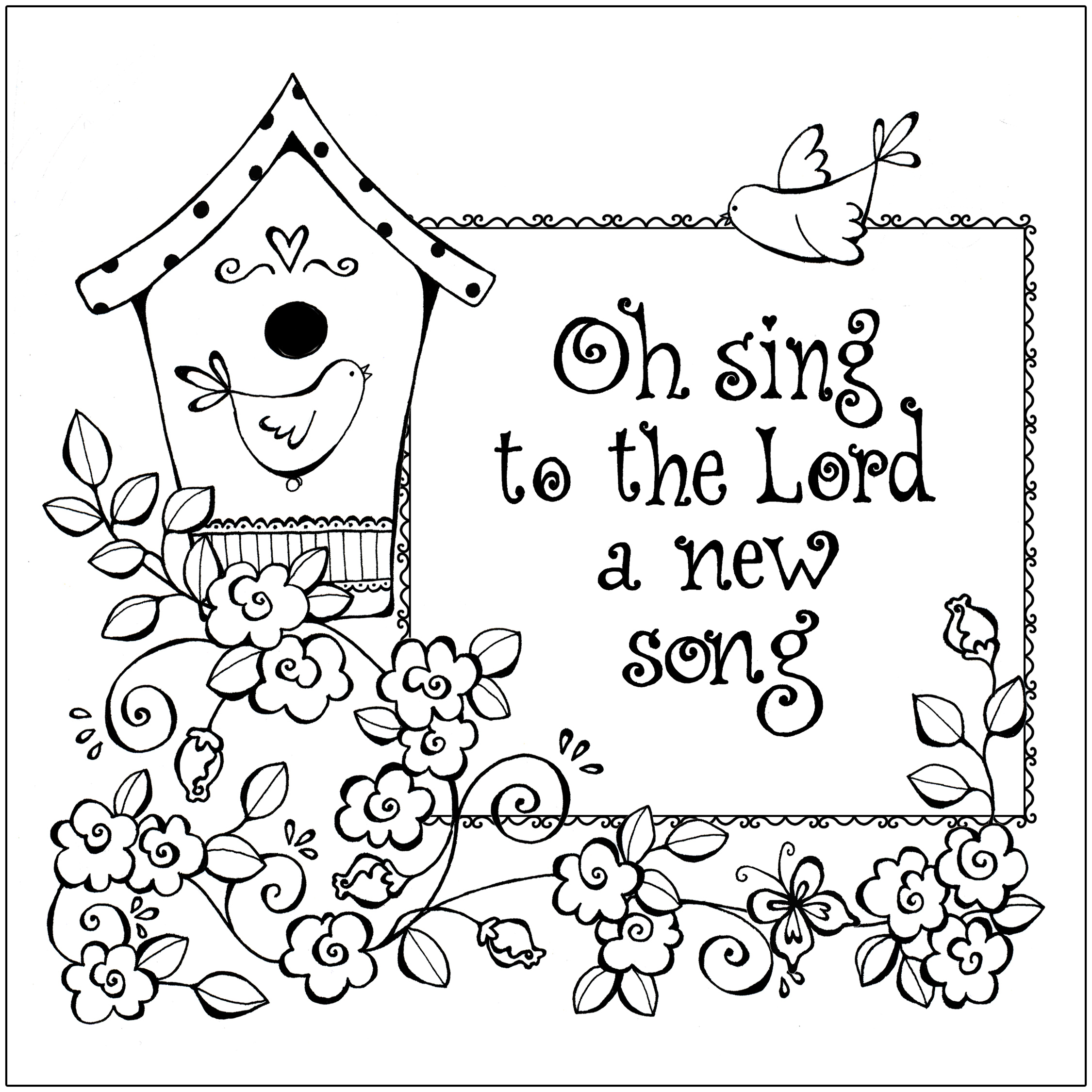 Coloring Pages Are A Great Way To Teach Children God S Word And Wisdom