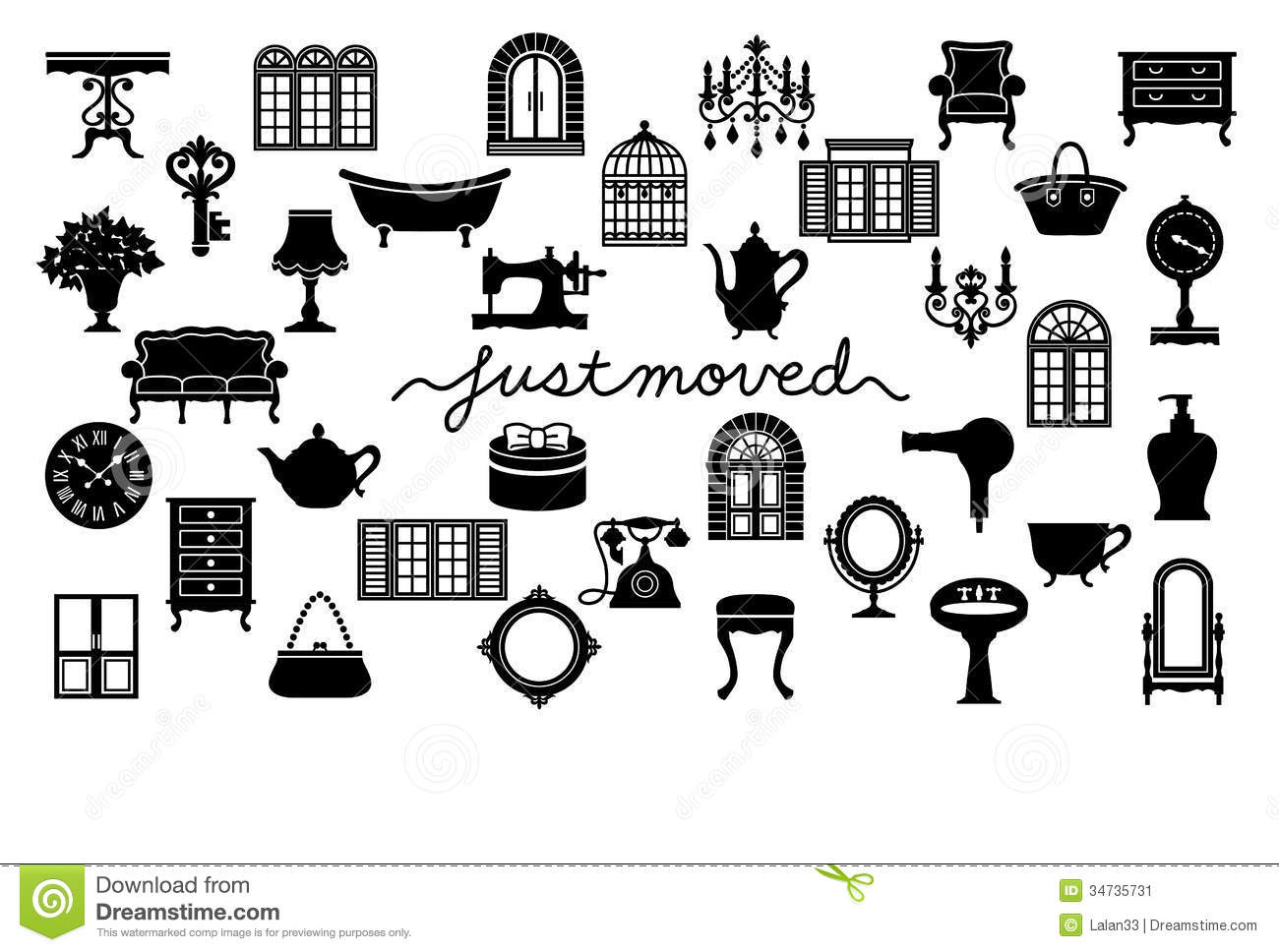 Displaying 20  Images For   Moving Furniture Clipart