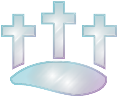 Glass Crosses Clip Art