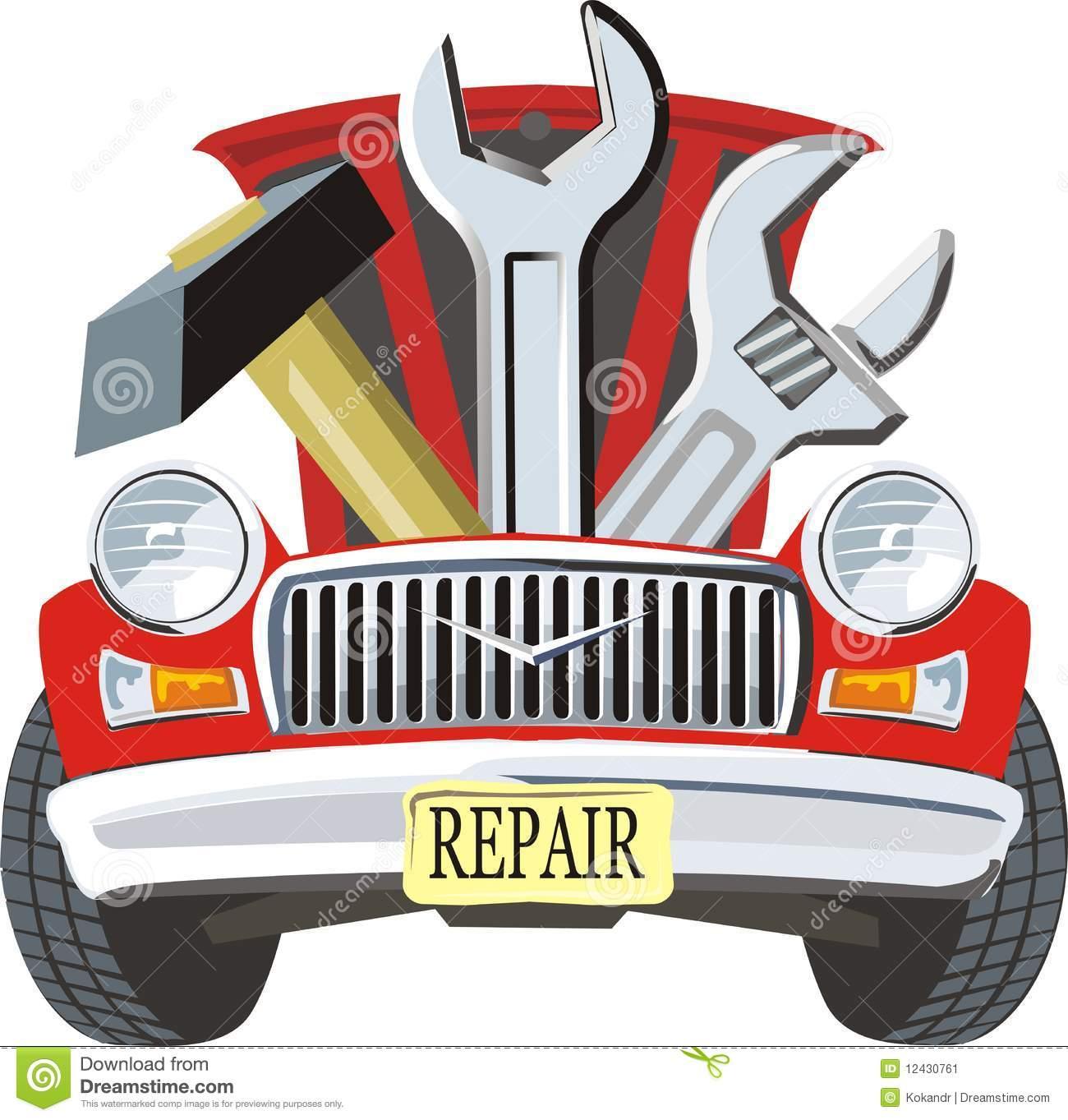 Mechanic Shop Clipart