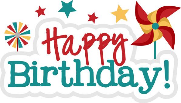 Cute Happy Birthday Clipart - Clipart Kid