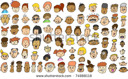 Multicultural People Clipart Multicultural People Face