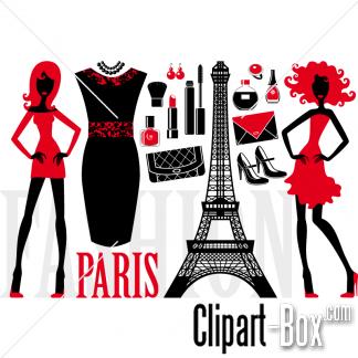 Paris Fashion Clipart - Clipart Kid