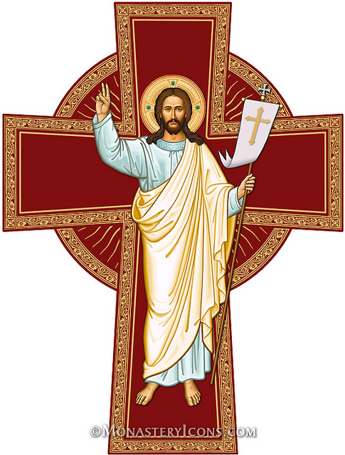Risen Christ Cross From Monastery Icons   Flickr   Photo Sharing