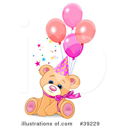 Teddy Bear Birthday Clipart - Clipart Kid