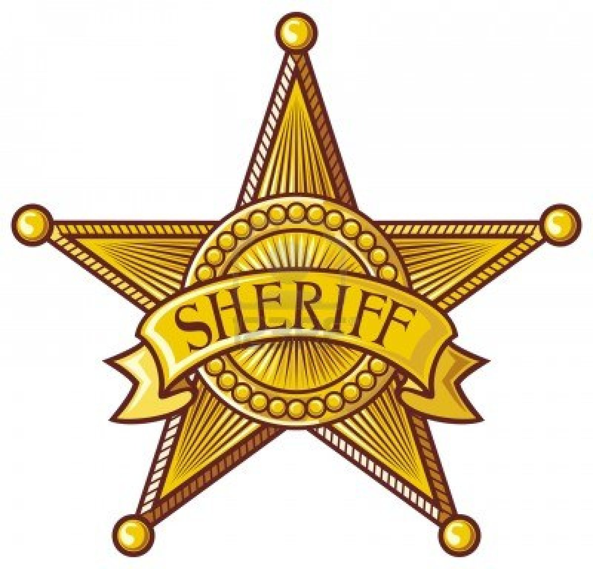 Sheriff Badge Clipart - Clipart Kid
