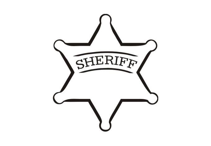 Clip Art Sheriff Badge Clipart sheriff badge clipart kid wall decal cool vinyl art for boys