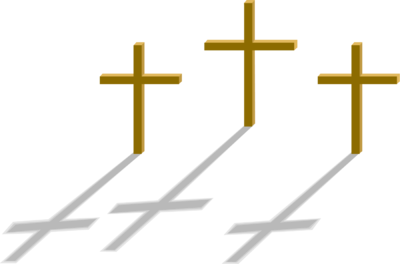 Three Crosses Clipart Three Crosses To Remind Us Of Jesus And The Two