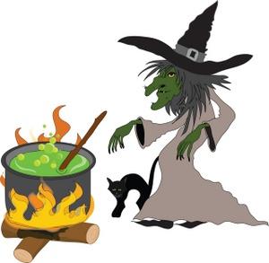 Witch Cauldron Clipart - Clipart Kid