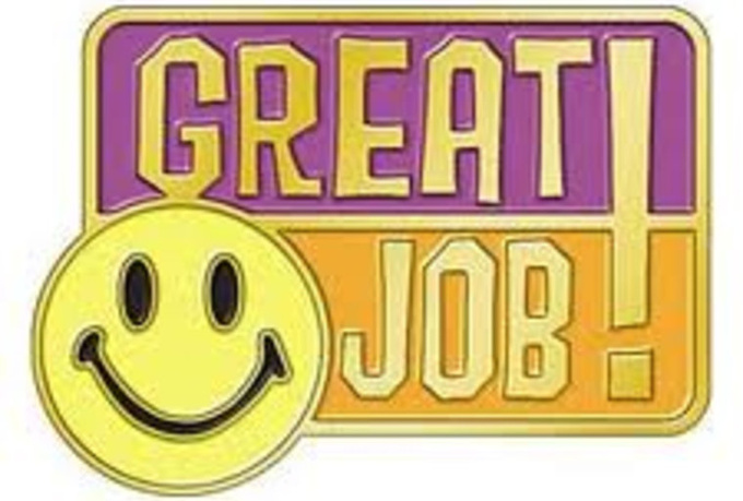 Job Well Done Clipart - Clipart Kid