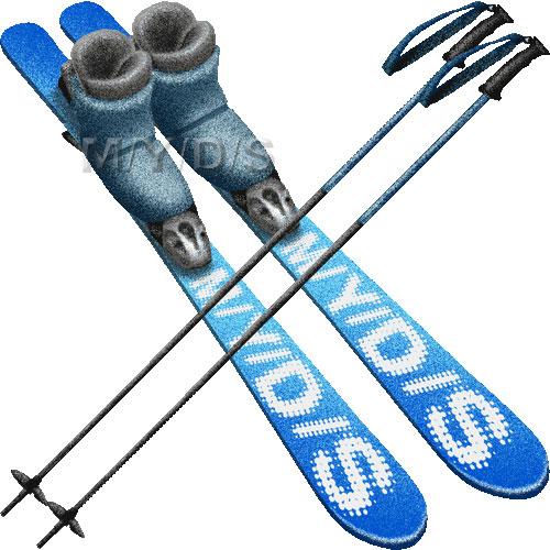 Ski Equipment Clip Art Skiing Equipment Clipart